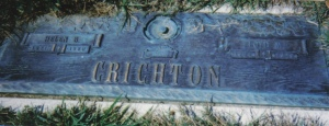 Crichton gravestone