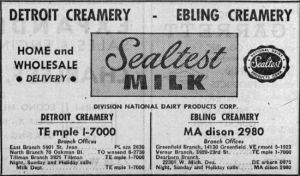 Ebling Creamery - Sealtest Ad