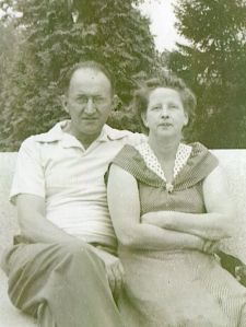 Edward and Velma (Belknap) Wells, 1951