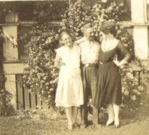 From Left: Mina Thompson, Bert Thompson, Mae Johnson, c1930s