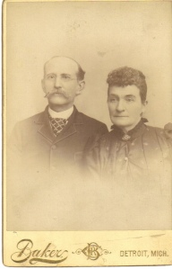 William and Mary (Everitt) Bolt,  c1890-1900