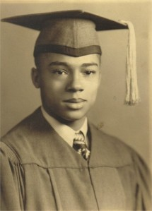 Melvin Jones, Graduation from High School, 1944