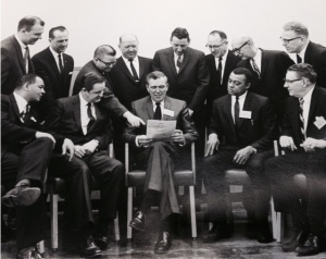 Uncle Melvin, seated, second from right